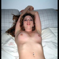 Nude On Bed - Naked In Bed, Pierced Nipples, Small Nipples , Nude On Bed, Pierced Nipples, Small Nipples, Do Me Now, Small Areola