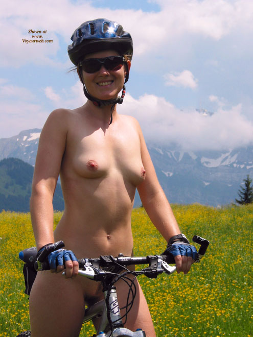 Accept. Nude amateur girls on bikes happens