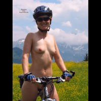 Naked Girl On A Mountain Bike - Erect Nipples, Landing Strip, Small Tits, Sunglasses, Naked Girl, Nude Amateur , Girl On Bike, Nude On A Bike In A Field Of Flowers, Nude Biker In Sunglasses, Small Boobs, Extreme Biking Nude, Beautiful Smile To Camera, Sport Body, Straddling Bike Nude, Naked Riding Reigns Supreme, Bicycling Nude, Naked In Nature