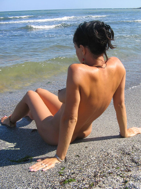 A Nudist Women , Hi!She Is My Lovely And Beautiful Wife, A Nudist Women.