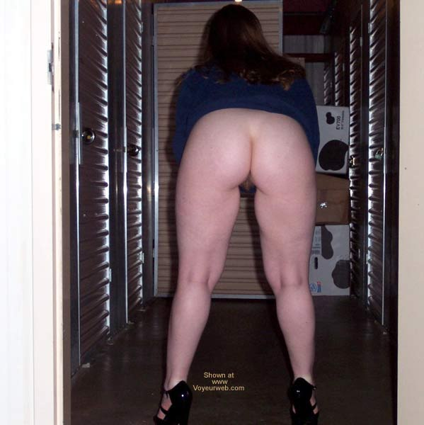 Pic #1 Stephanie at storage