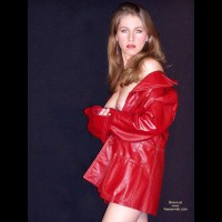 Red Leather , Red Leather, Looking At You, Long Earrings