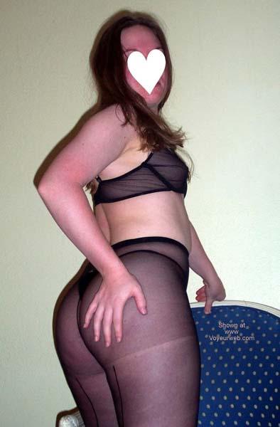 Pic #1 Stephanie's Black Lingerie II