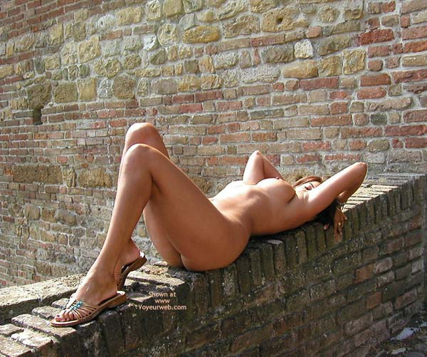 Laid Bare , Laid Bare, Errect Nipples, Nude On Wall