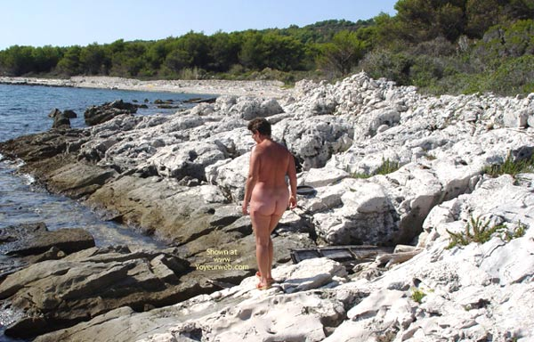 Pic #1 Renata On Rocky Croatian Beaches