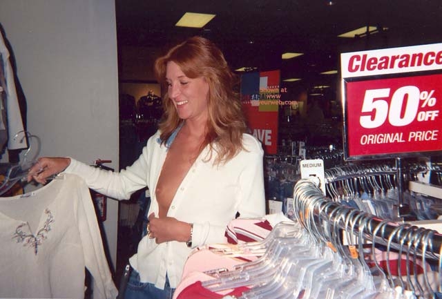 Pic #1 Marcia Goes Shopping