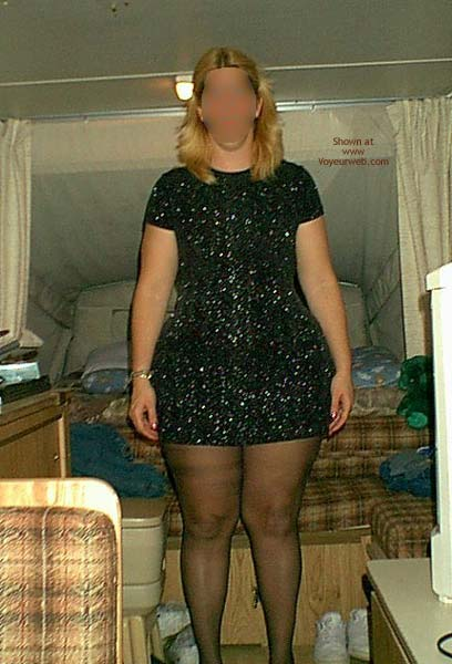 Pic #1 My Wife Again in a Black Dress