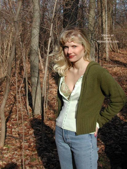 "Pic #1 Paige - Back in The Saddle ""Woods"" Again"