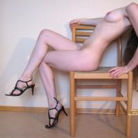 Nude In Heels - Heels, Naked Girl, Nude Amateur , Petite Body, Only In Heels, Naked With Shoes, Sitting Nude, Small Breast, Medium Natural Breast, Indoor Nude Profile, Naked, Black Tie Heels
