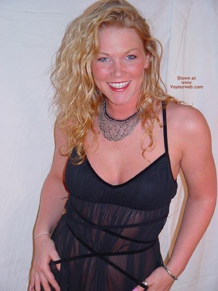 Pic #1 Sunnybare Sexy In Black 1