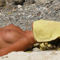 Puffy Tanned Nipples - Natural Tits, Perfect Tits, Topless Beach, Topless, Beach Tits, Beach Voyeur , Sunbathing On Beach, Nubile Nipples, Evenly Tanned Body, Tan Body, Pretty Tan Nipples, Medium Tanned Breasts, Puffy Nipples, Beach Boobs, Topless Side View