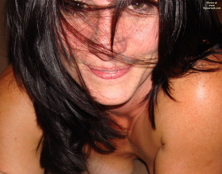 Sexy Face - Black Hair, Sexy Face , Closeup Of Face, Your Eyes Tell It All, Nice Face