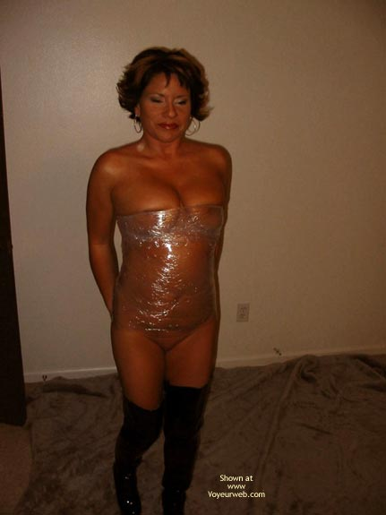 Pic #1 All Wraped And Tied Up