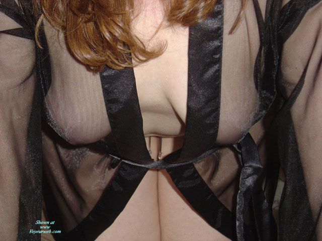 New Lingerie , Adele Got A New See-thru Top. :-)