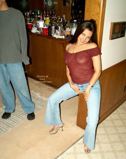 Pic #1 LatinLisa Horny @ a Party!