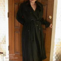 Buxomgirl38e In A Trench Coat