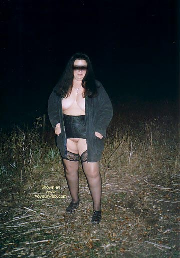 Pic #1 Bellemich Outside In Balck Lingerie