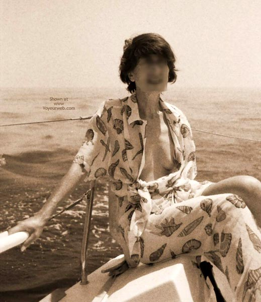 Pic #1 Nude On Boat