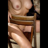 Peekaboo Smooth Pussy. - Big Tits, Erect Nipples, Long Legs, Perky Tits, Shaved Pussy, Naked Girl, Nude Amateur , Nude Sitting In Chair, Sideways In Chair, Perfect Body Sitting On Chair, Nude Seated Sideways On Chair, Wearing A Chain Undie