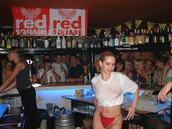 Pic #1 Wet T-shirt in a Bar