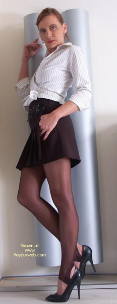 Pic #1 Susy Rocks Pantyhose And High Heels