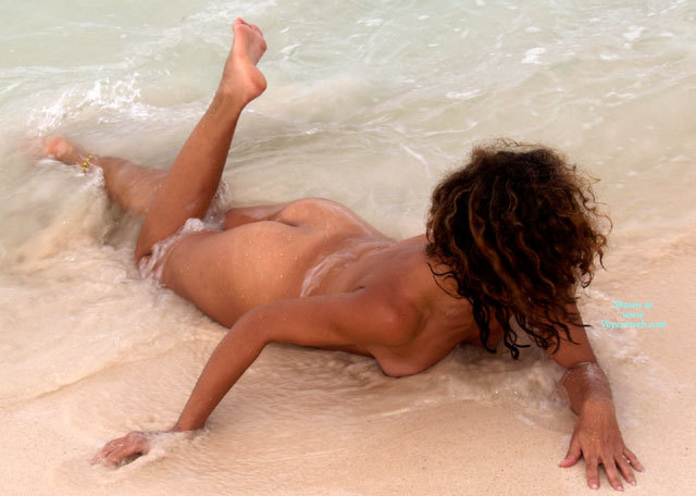 Nude Girl Dark Hair Lying In Surf - Dark Hair, Naked Girl, Nude Amateur , Naked At The Beach, Calloused Feet, Tanlines On Ass, Skinny Dipping, Face Down On Beach, Lying Face Down, Face Down In Surf, In The Surf, Nude In Water, Tits In Sand