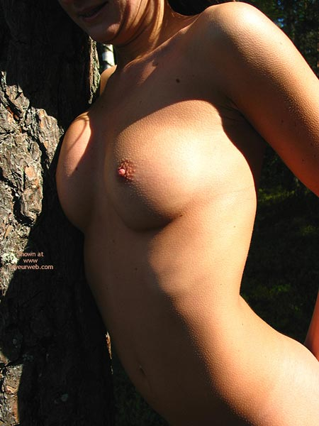 Nude Outside - Erect Nipples, Nude Outdoors , Nude Outside, Goose Bumps, Erect Nipple, Tanned Boobs, Chilly, Hard Nipple