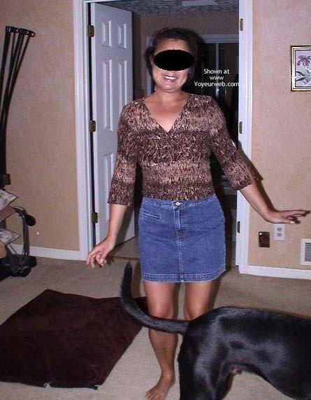 Pic #1Hot 40 yo Wife Short Dress