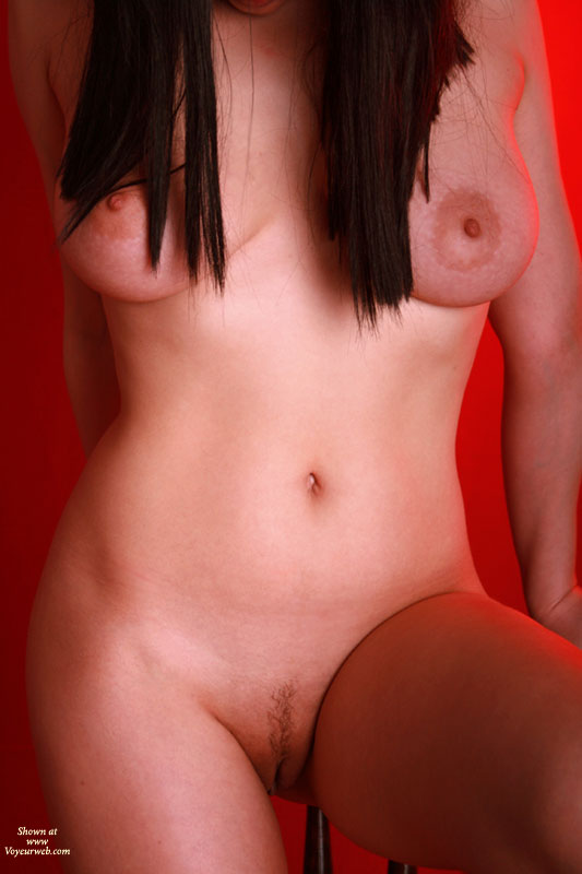 Naked With Long Brown Hair Medium Boobs And Landing Strip - Brown Hair, Dark Hair, Landing Strip, Large Aerolas, Long Hair, Naked Girl, Nude Amateur , Tits And Pussy, Goosebumps On Breasts, Sitting On Stool, Nude Frontal Torso Shot, Hair Over Breasts, Medium Natural Breasts