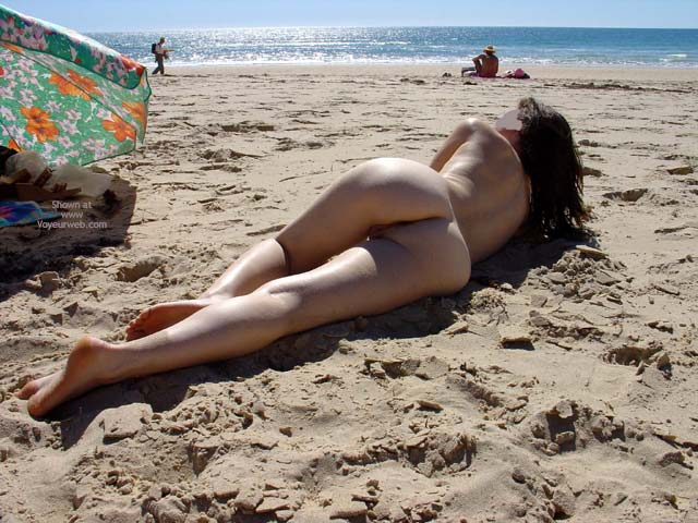 Pic #1 First Nude Beach Pose