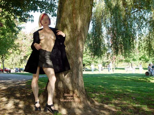 Pic #1 Naughty In The Park
