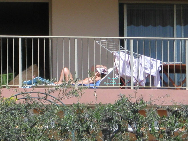 Spring Is Here , Spring Is Here And So Is The Sun. This Means That My Neighbour Is Working On Her Tan.