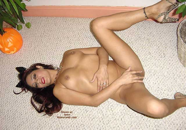 Girl Lying On The Floor - Leg Up, Sandals, Spread Legs, Touching Pussy , Girl Lying On The Floor, Touching Pussy, Spread Legs, Leg Up, Covering Pussy With Her Hand, Leopard Sandals, Kitty Ears, Middle Finger, Lying Down And Spreading, On The Floor On Halloween