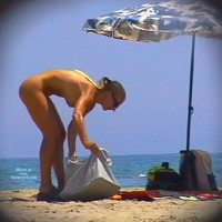 Superzoom Blonde In Agde