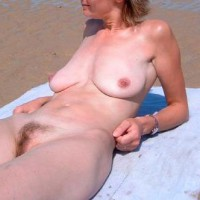 Nice Girl At Beach