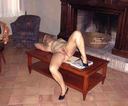 Pic #1 Lady at The Fireplace