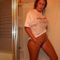 Shower - Shower , Shower, Wet Tshirt, Voyeurweb Logo