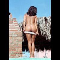 Flashing Ass - Flashing Ass, Rear View , Flashing Ass, Rear Shot, Standing Nude Outdoors, Undressing Girl, Naked Ass