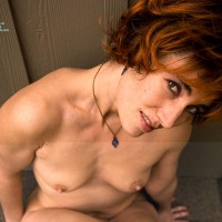 Nude Redhead Sitting Against Wall On Roof - Brown Eyes, Brown Hair, Milf, Perky Nipples, Red Hair, Naked Girl, Nude Amateur , Naked Against The Wall, Red Hair And Brown Eyes, Pointed Nipples, Braille Nipples, Milf Naked, 2 Tits And A Smile, Nipples, Sitting -down View, Blue Necklace