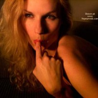 Facial Of A Blonde Girl , Facial Of A Blonde Girl, Sucking Finger, Finger In Mouth, Blond Sucking On Finger, Nude Blonde In Shadows