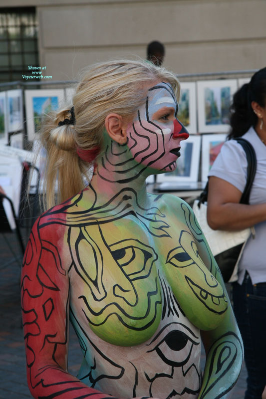 Pic #1Painted Girl