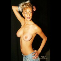 Skinny Blonde Show Breast - Topless Blonde, Sexy Body , Skinny Blonde Show Breast, Topless Blonde, Tight Body, Big Tits On Skinny Girl