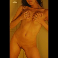 Breast Squeezing And Hairless Pussy - Landing Strip, Hairless Pussy , In Shower, Tight Body, Biting Her Lip, Firmly Grabbing Her Breasts, Grabbing Tits, Grabing Breasts