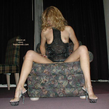 Pic #1 OC Blondie in a Chair