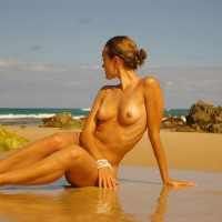 Nude Girlfriend On Beach - Blonde Hair, Long Hair, Long Legs, Tan Lines, Naked Girl, Nude Amateur , Beauty On A Beach, Sexy Beach Girl, Medium Breast, Posing On The Beach, Long Neck, Girl Watching The Ocean, Bikini Top Tan Lines, Beach Nude, The Legs Are Together And Gorgeous, Very Long Legs