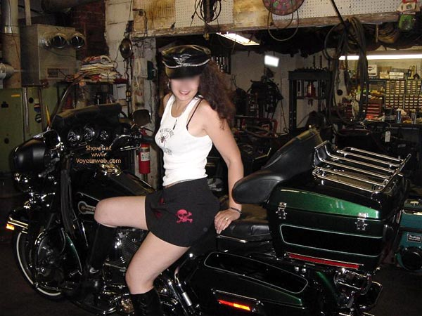 Pic #1 Bostonhoney On Bike