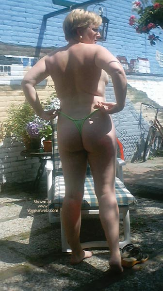 Pic #1 In The Backyard