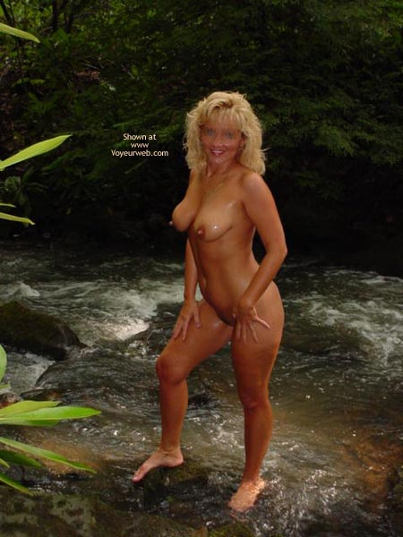 Pic #1 *MN Hot Wife Cassie in The Stream 1