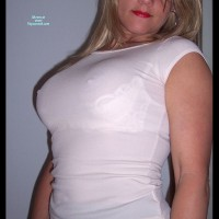 Erect Nipples Under Sheer Top - Big Tits, Blonde Hair, Hard Nipple, Long Hair , Covered With Clothing, Blond Long Hair, Perky Nipples, White Top, See Thru Shirt, White Shelf Bra, Hidden Big Tits, See Through Clothing, Nipples Showing Through Shirt, See Thru White Shirt, White See-thru T-shirt, Seen Through