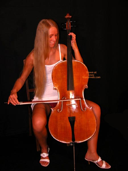 Pic #1 Female Cello Player